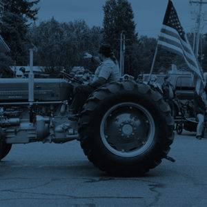 Tractor blue 1
