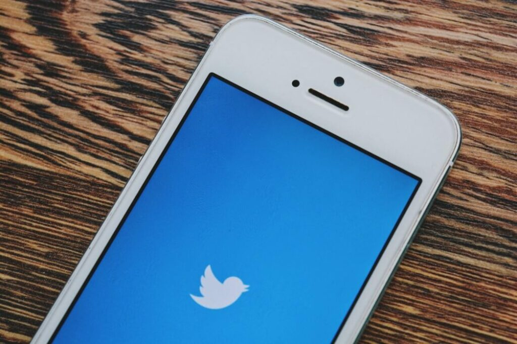 Twitter icon on iPhone