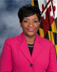 Maryland speaker adrienne a. Jones