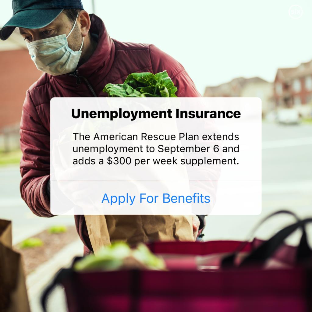 Six arp unemployment