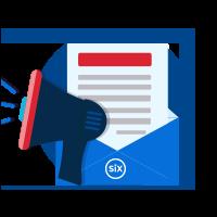 Six e mail newsletter